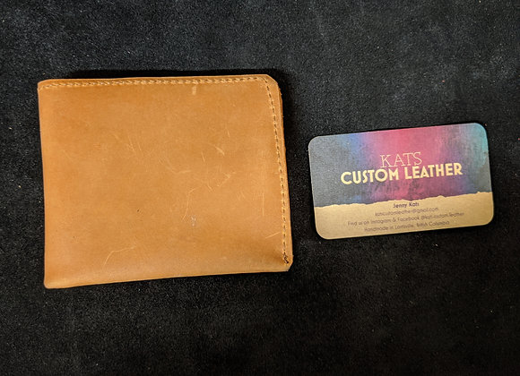 Wallet- Rust/Brown