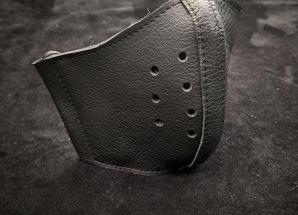 Leather Mask- Basic Black