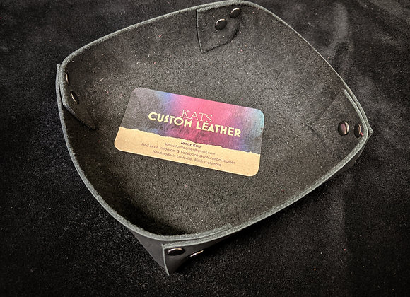 Leather Tray- Small