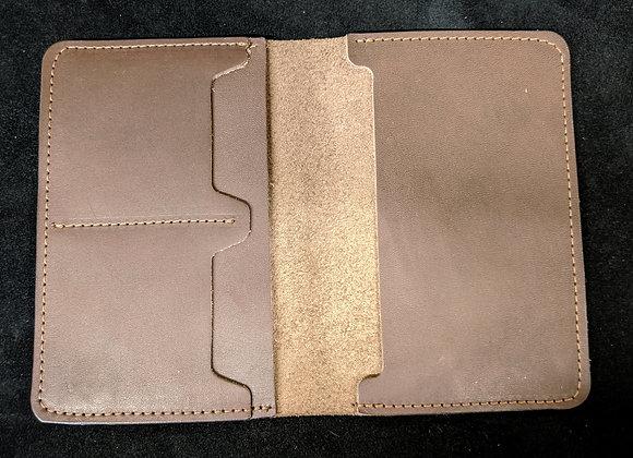 Passport Wallet- Brown