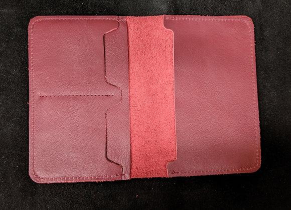 Passport Wallet- Red