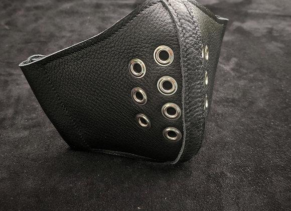 Leather Mask- Black