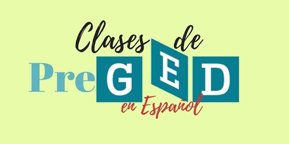 Clases de PreGED en Español