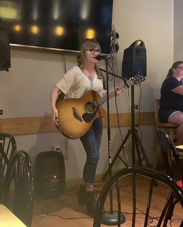 Open mic from 7/8/2019, playing two of my originals :)