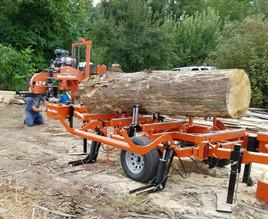 Mobil saw mill