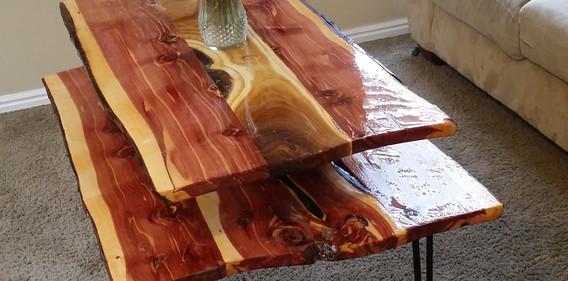 Juniper double decker table