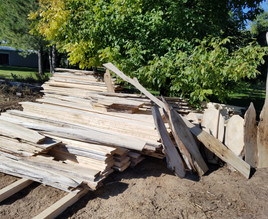 Cottonwood slabs