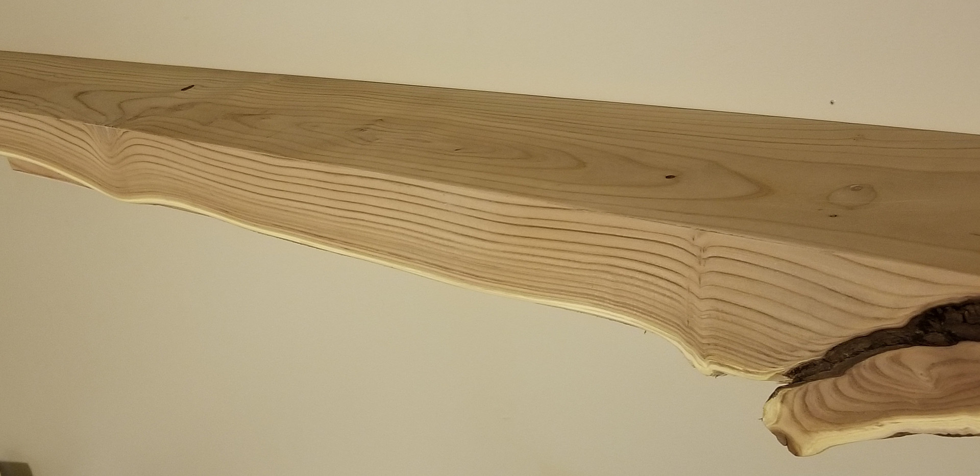 Russian Olive live edge shelf