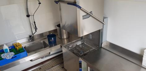 Laverie vaisselle cantine