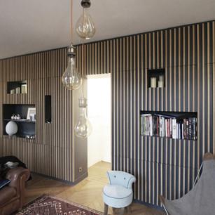 Réhabilitation d'un appartement - 75008 Paris