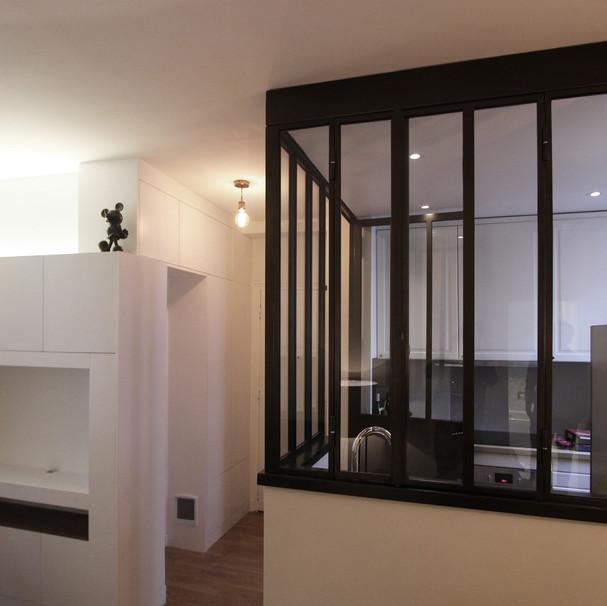 Réhabilitation d'un appartement - 75018 PARIS