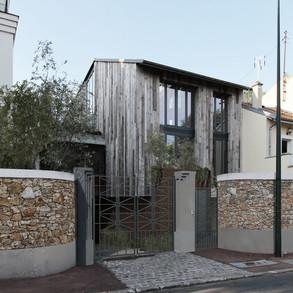 Extension & réhabilitation d'une maison de ville - GARCHES