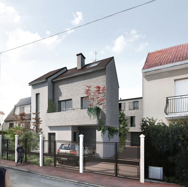 3 Maisons Individuelles Groupées - NOISY LE GRAND