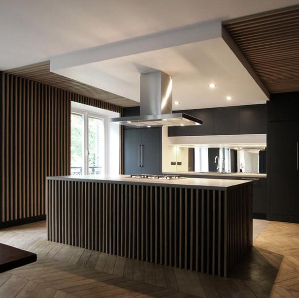 Réhabilitation d'un appartement Haussmannien - 75008 PARIS