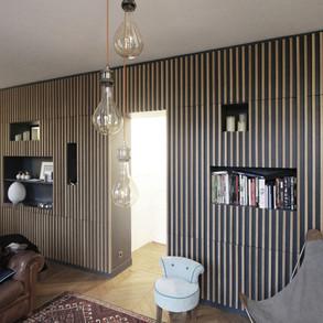 Réhabilitation d'un appartement - 75015 PARIS