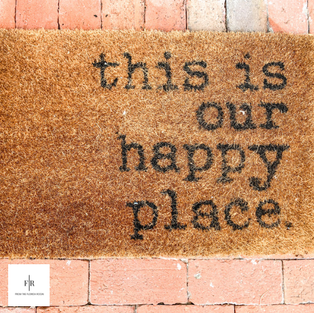 We want to share our happy place with you :)