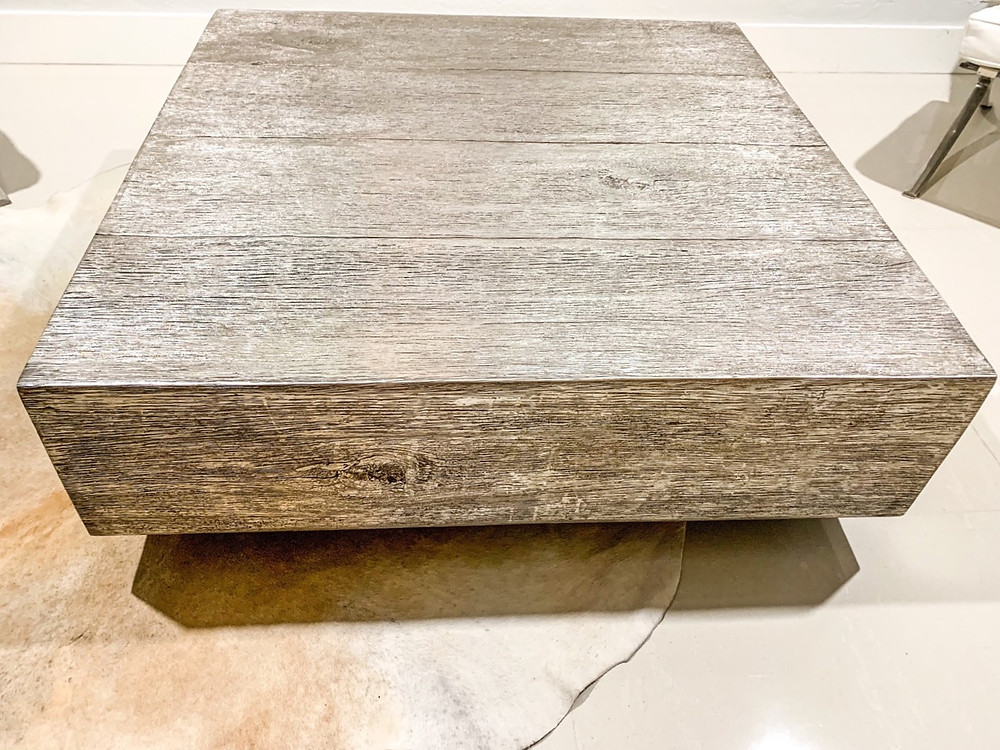 ZGallerie Timber coffee table