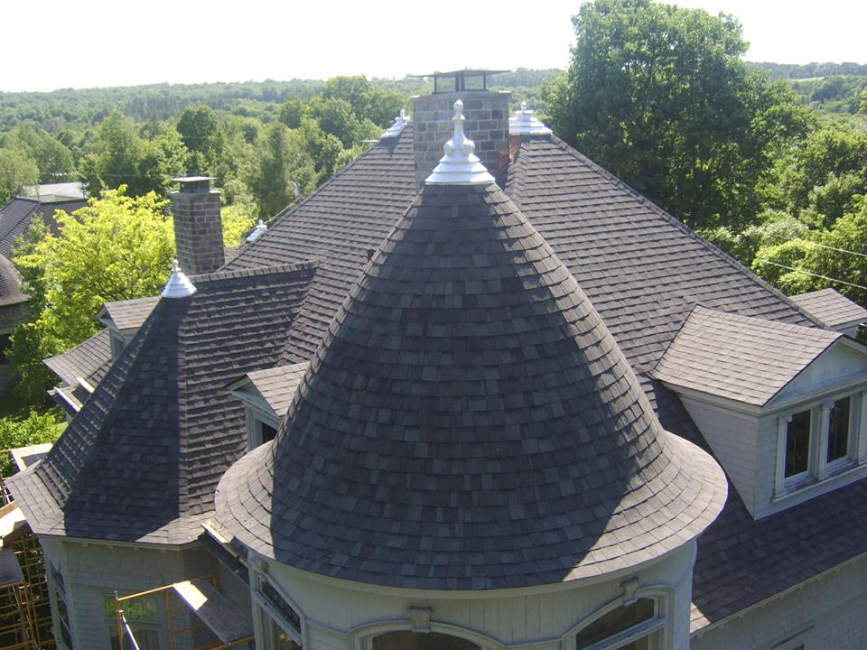 Gould Mansion Bell Roof