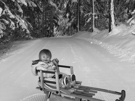 Noa's eerste wintersport, deel 2