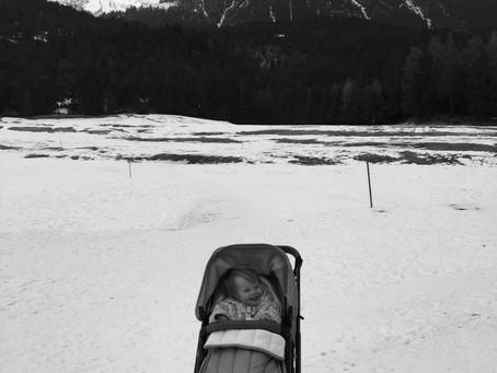 Noa's eerste wintersport, deel 1