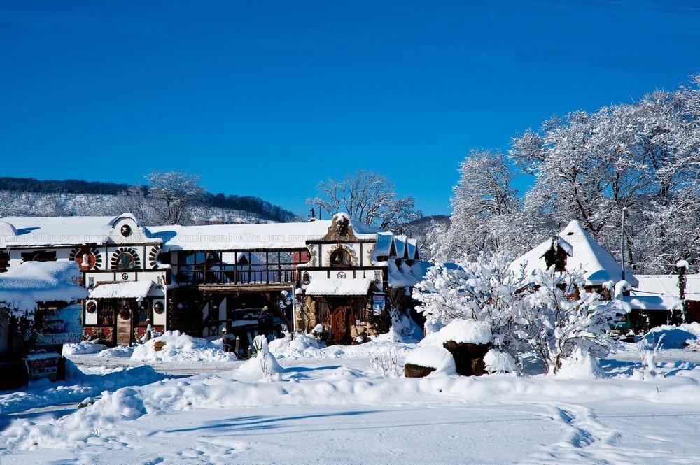 Беловодье зимой