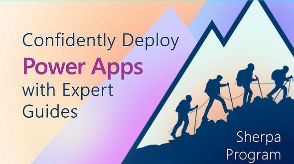power apps sherpa li