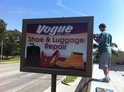 Vogue Outdoor sign