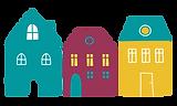 AMMIL Ltd logo - three houses