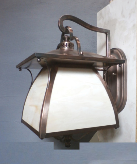 The finished result - Wall Lantern