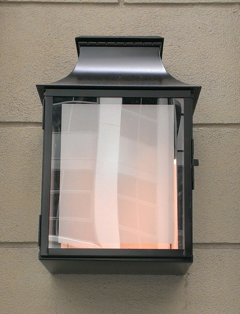 Copper Wall Lantern