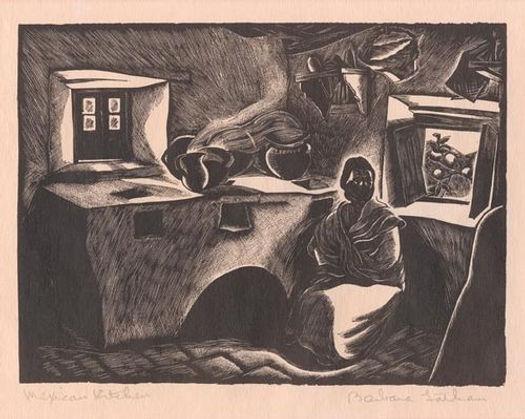 woodcut 6.25 x 8.5  c. 1932