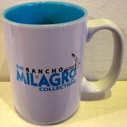 The Rancho Milagro Collection (aqua/white) Mug