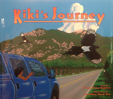 Kiki's Journey - Illustrated by Jonathan Warm Day