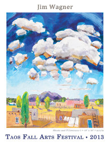 Jim Wagner-Fall Arts Festival 2013 Poster - Signed