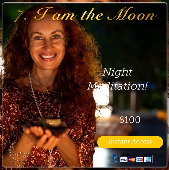 Meditation #7 - Magical Moon. Night Meditation. Digital Product.