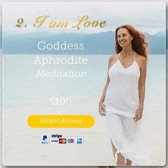 Meditation #2 I AM LOVE. Digital Product.