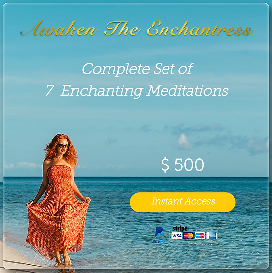 Step 2 - 7 Meditations Enchanting Meditations. Set. Digital Product.