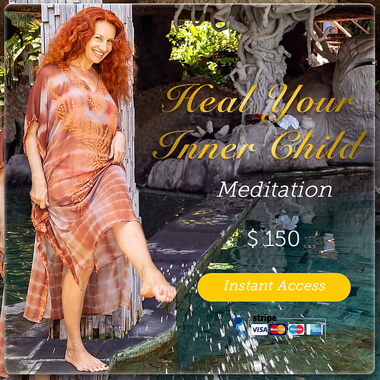 Womb Healing Meditation #1, Clear all FEARS & negative emotions. Digital Product