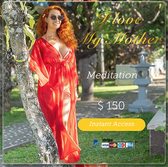 Womb Healing Meditation #2 Heal your Feminine Lineage. Digital Product.