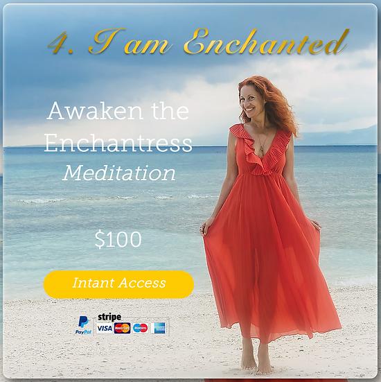 Meditation #4 I AM ENCHANTED. Digital Product.