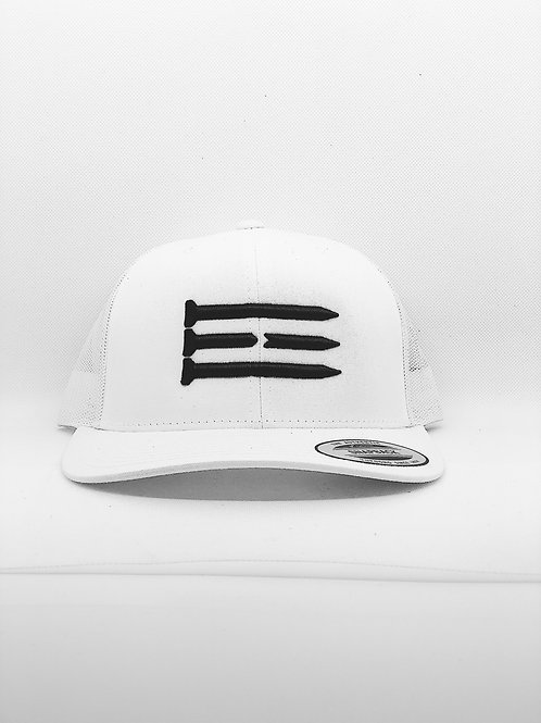 Three Tee's Golf Tri-Tees Snapback-Frost