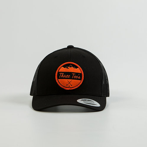 Three Tee's Golf Logo Snapback-Beavs