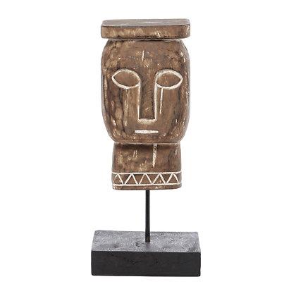 Escultura Cabeza Papua