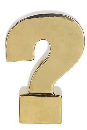 Escultura Signo Pregunta