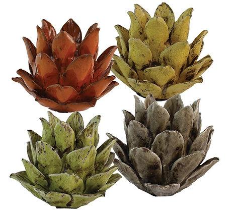 Portavelas Flor