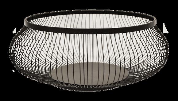 Bowl Pescadero Metal Negro L