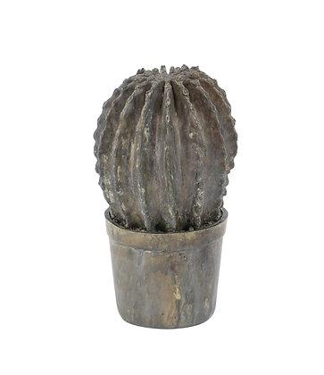 Escultura Cactus Redonda