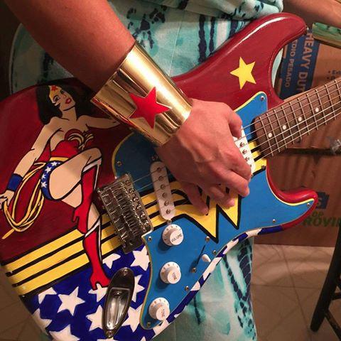 Wonder Woman Guitar