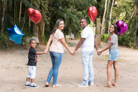 Joice e Família