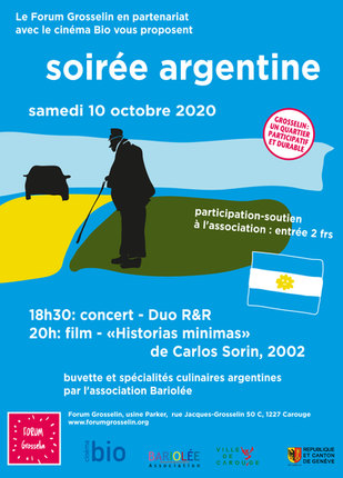 Affiche_GROSSELIN-2020 soirée argentine